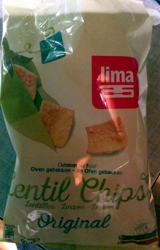 Chips aux Lentilles Chili 90g