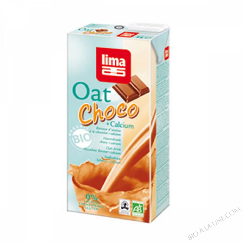 Lait Avoine Chocolat/Calcium 1L