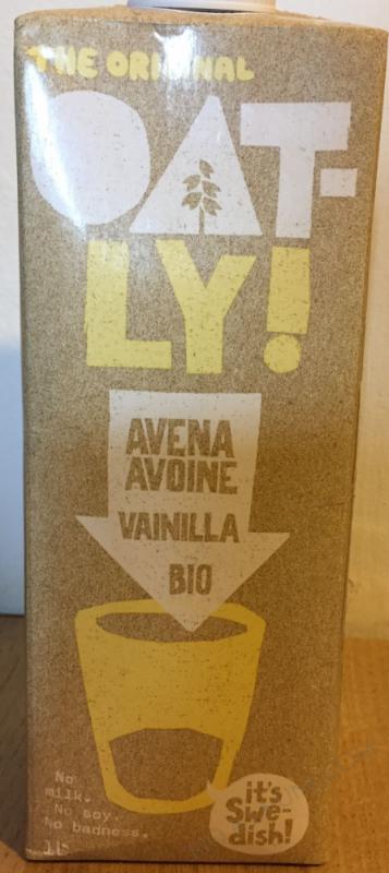 Boisson Avoine Vanille 1L