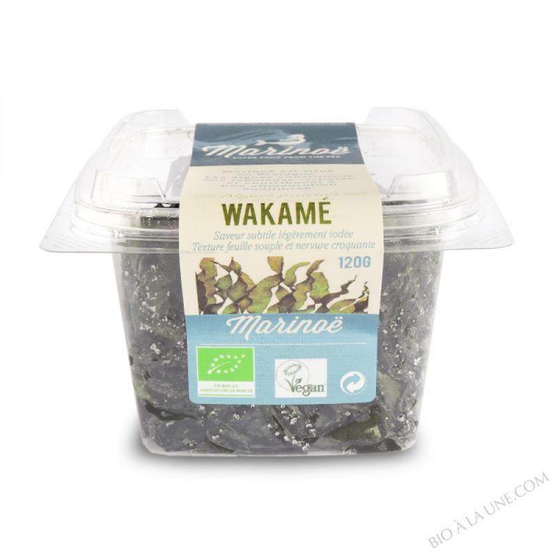 algues fraîches Wakame - Marinoë