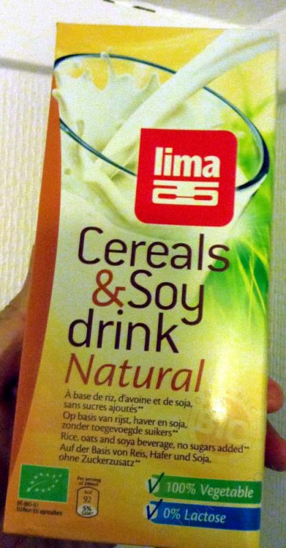 BOISSON CEREAL DRINK LIMA 3 1L LIMA