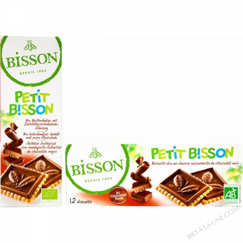 BISCUITS BEURRE/CHOCOLAT NOIR PETIT BISSON 150G