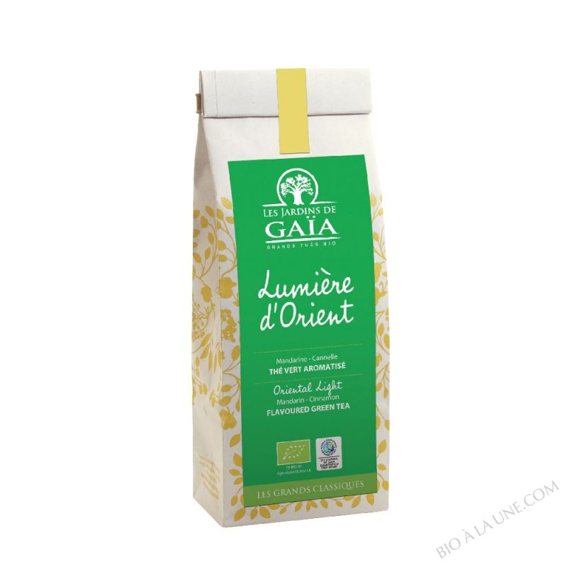 The vert Lumiere d'Orient - Sachet 100g