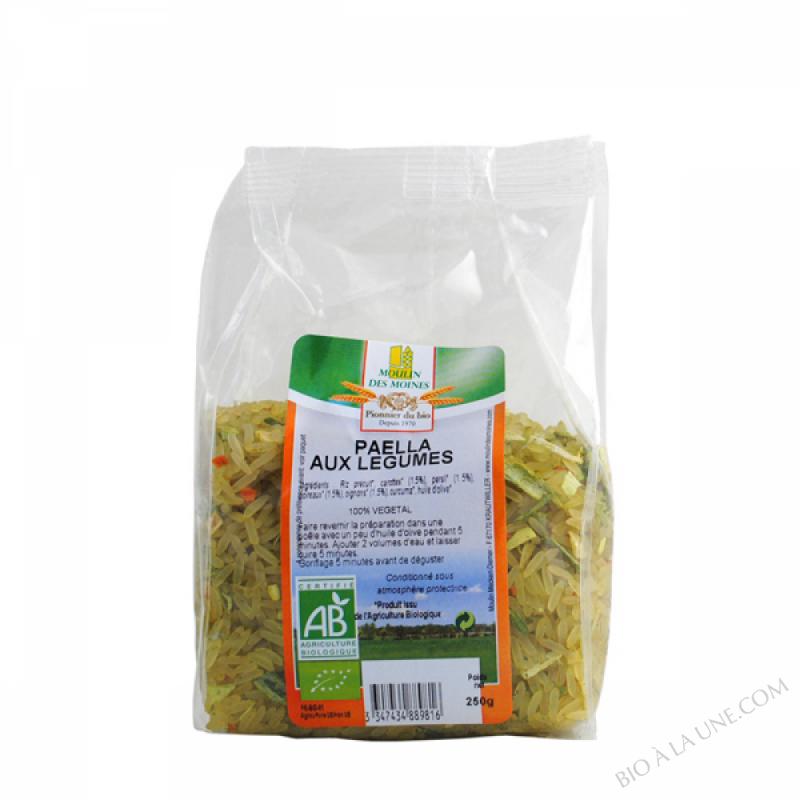 Paella aux legumes - 250g