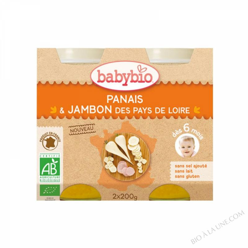 Petits pots Panais Jambon - 2 x 200g