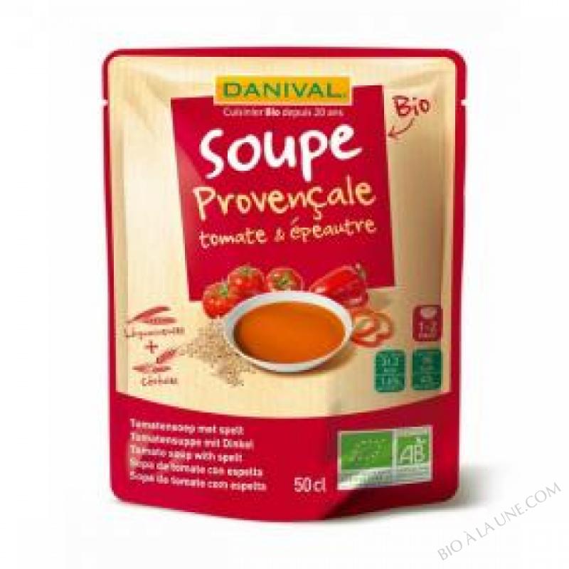 Soupe tomates epeautre BIO 500ml