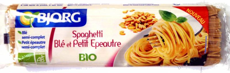 Pâtes Spaghetti ble epeautre 500g