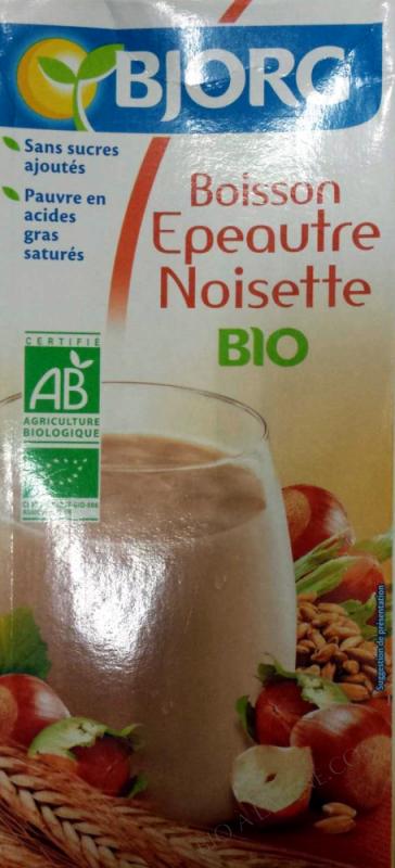 Boisson vegetale epeautre noisette 1l