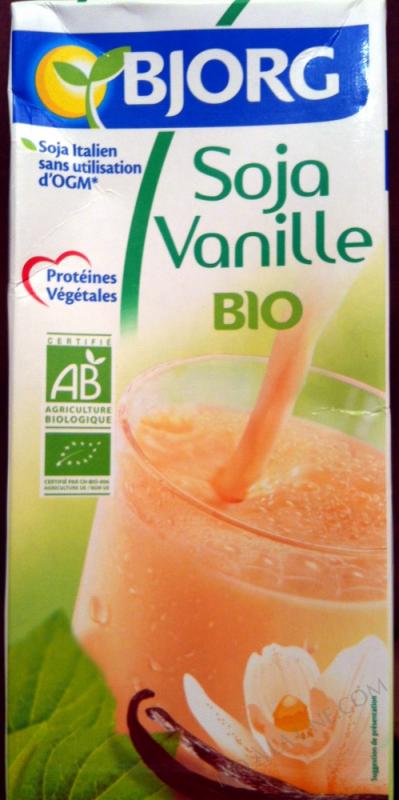 Boisson vegetale soja vanille 1l