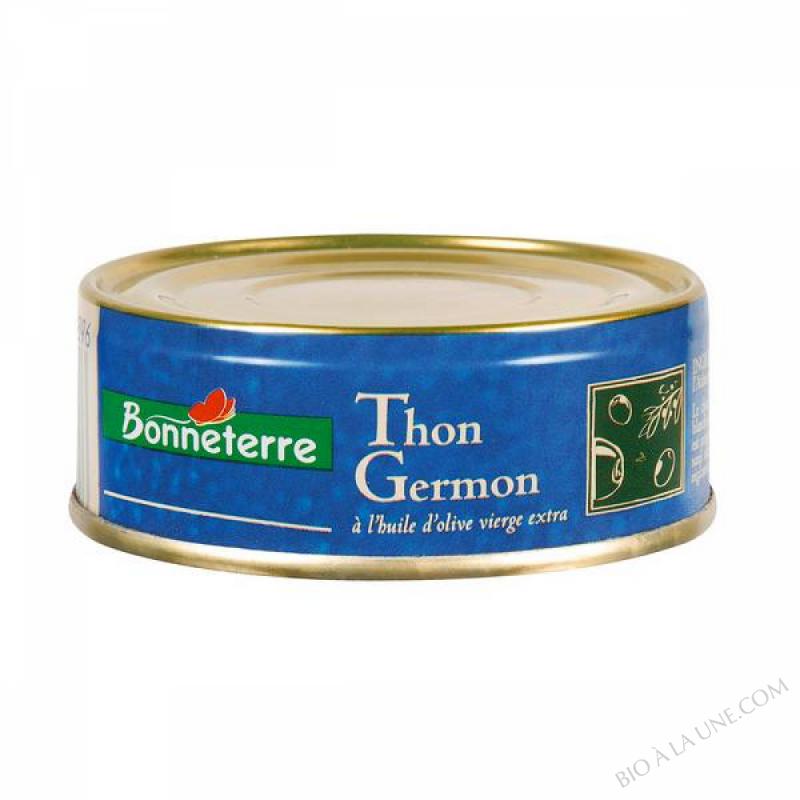 THON GERMON HUILE D'OLIVE BIO - 80 G