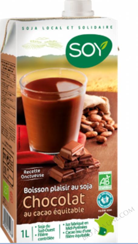BOISSON SOJA CHOCOLAT 1L SOY - 1.058g