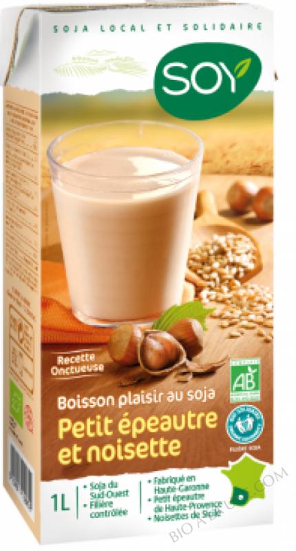 Boisson Soja Petit Epeautre Noisette 1L