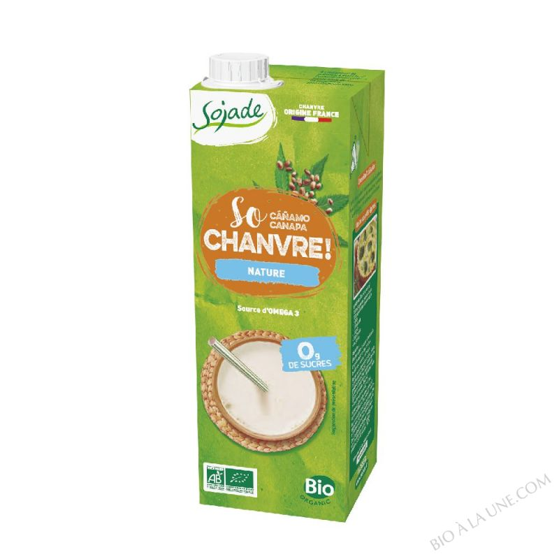 SOJADE SO CHANVRE NATURE - 1 L