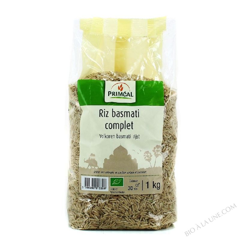 Riz Basmati Complet 1 kg