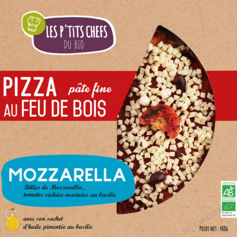 PIZZA MOZZARELLA AU FEU DE BOIS 400 G