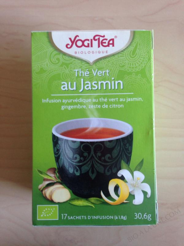 The Vert au Jasmin 17 sachets