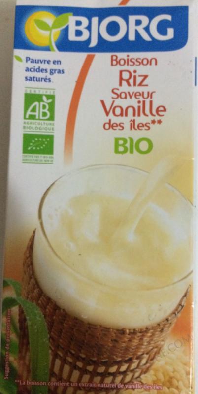 Boisson vegetale riz vanille 1L