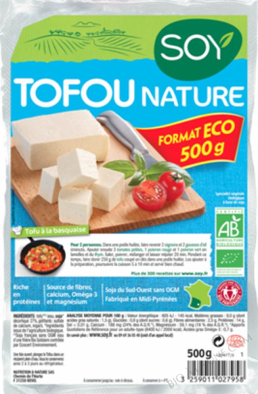 TOFOU NATURE FORMAT FAMILIAL - 500 G