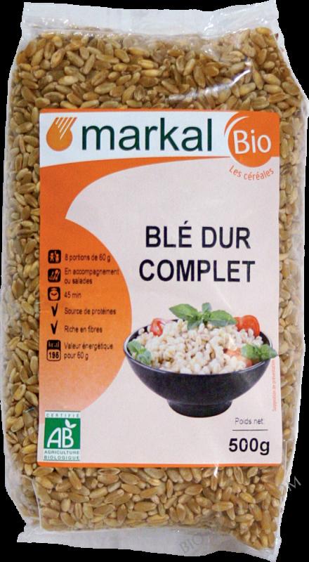 BLÉ DUR COMPLET - 500g