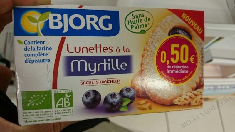 LUNETTES A LA MYRTILLE 200G