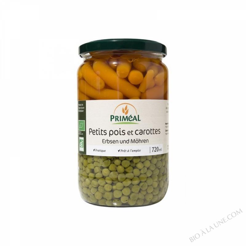 petits pois et carottes - 720 ml