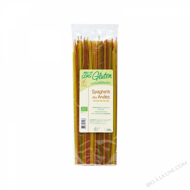 Spaghetti des Andes Sans Gluten 250g