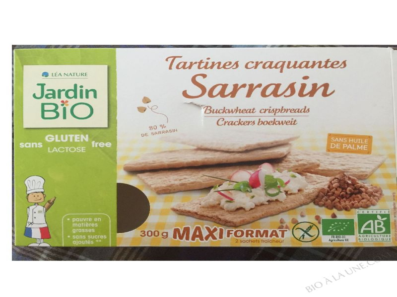 Tartines craquantes sarrasin- 300 g