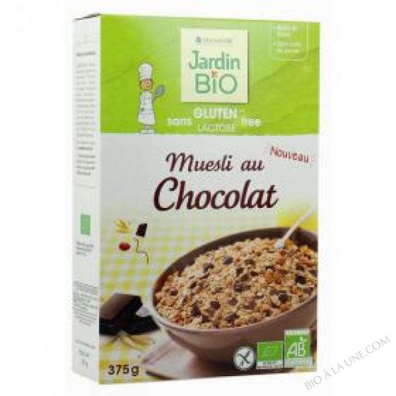 Muesli au Chocolat sans gluten 375 g