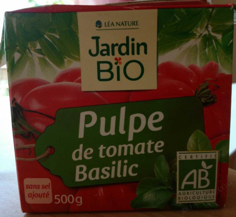 Pulpe de tomate Basilic 500 g