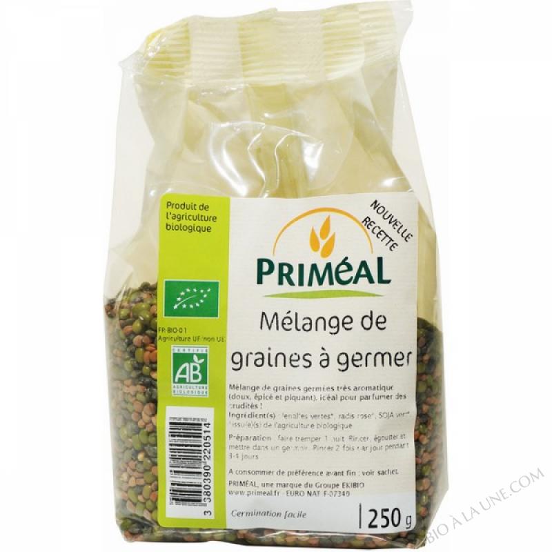 Melange de graines à germer 250 gr