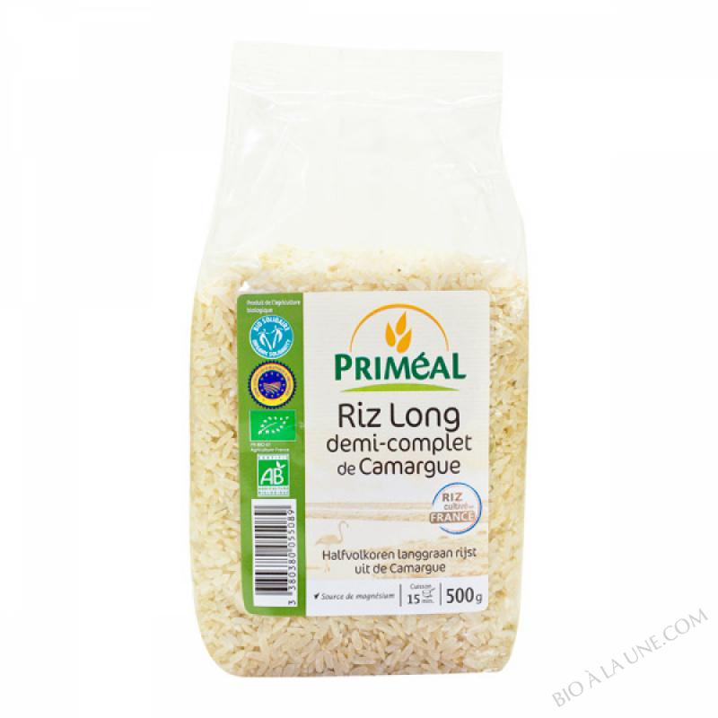 Riz Long 1/2 Complet Camargue 500g