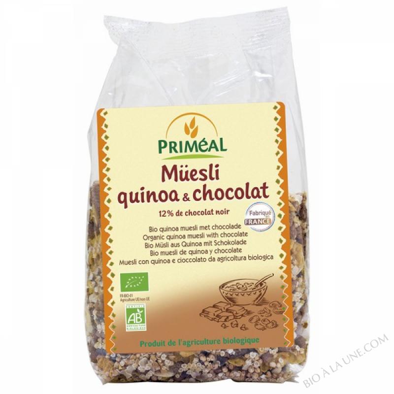 Muesli Quinoa & Chocolat 350gr