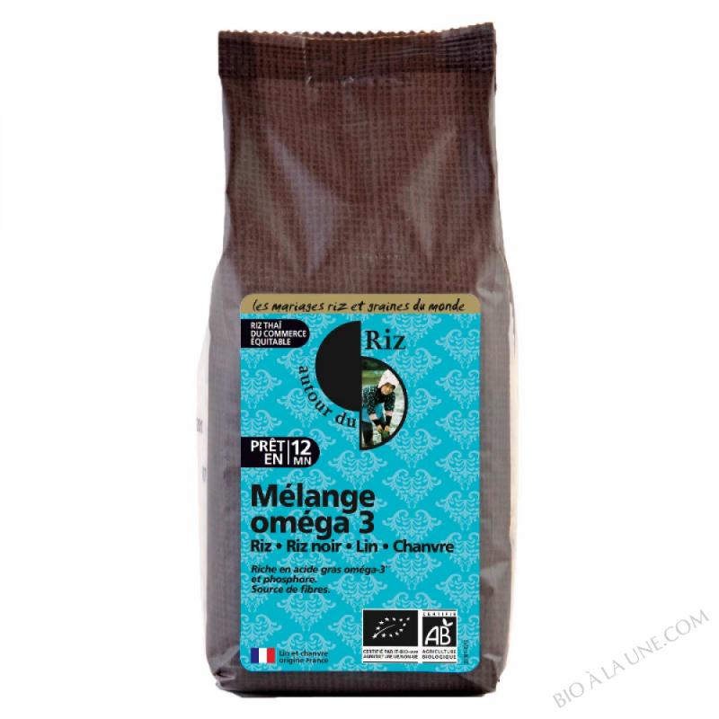 Riz Melange Omega 3 - Boite de 400g