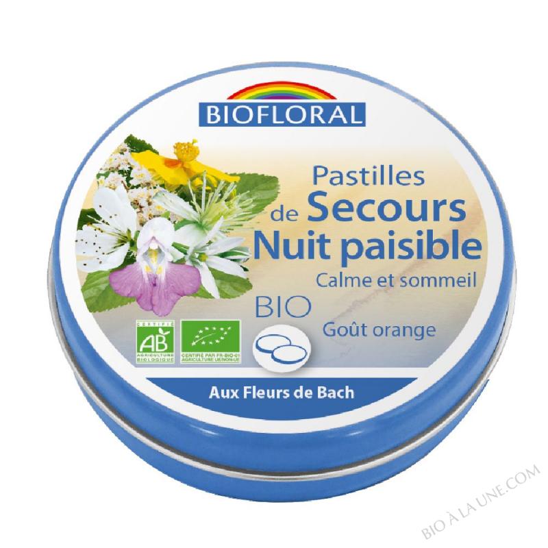 FDB Pastilles de secours Nuit paisible BIO - 50 g