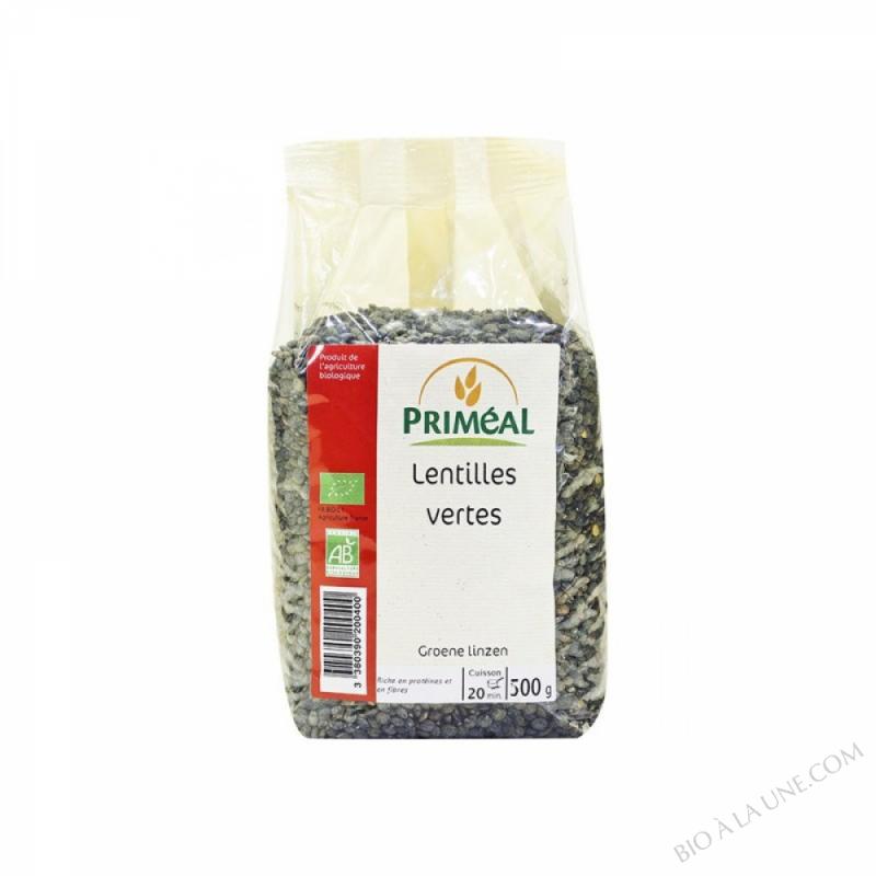 Lentilles Vertes Bio 500 gr