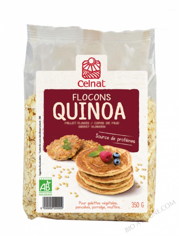 CELNAT Flocons de Quinoa BIO - 500g