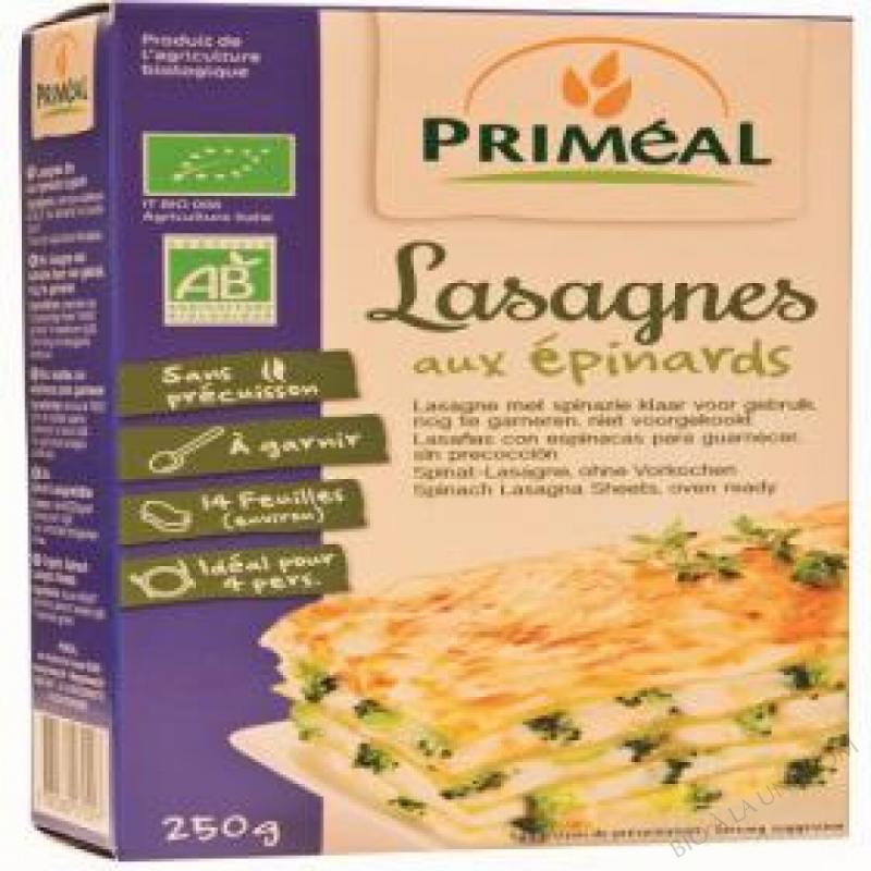 Lasagnes aux epinards 250g bio