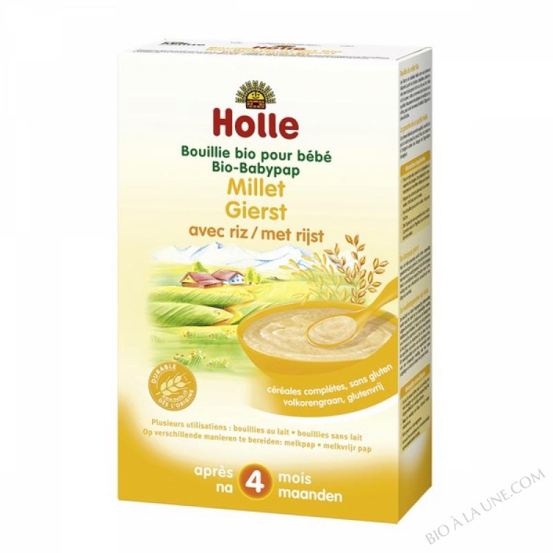 Bouillie bebe au millet