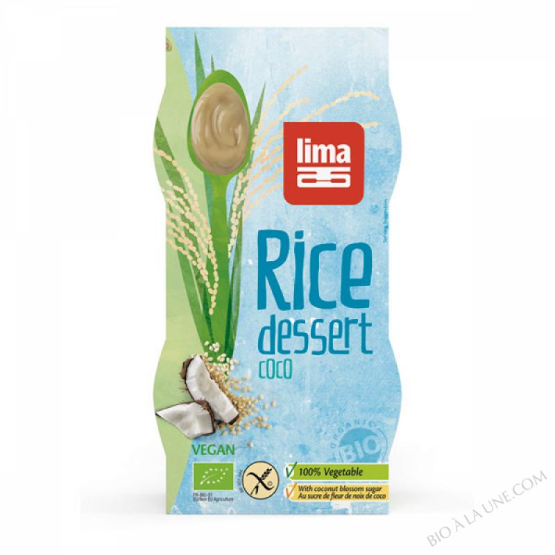 Dessert de Riz Coco 2x100g