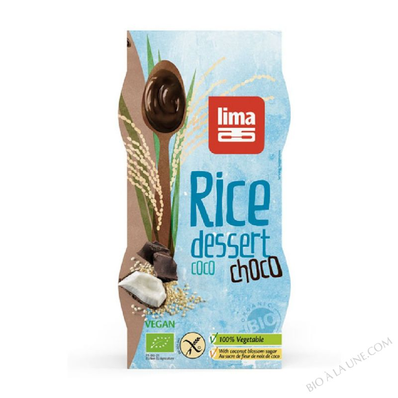 Dessert de Riz Coco Choco 2x100g