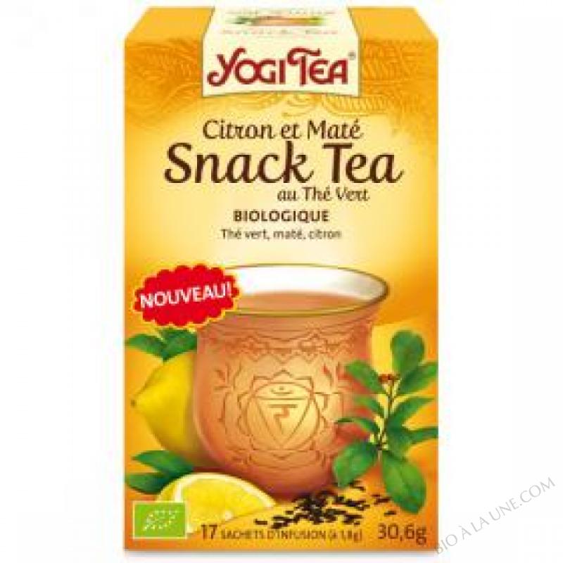 Snack Tea Citron et Mate 17 infusettes