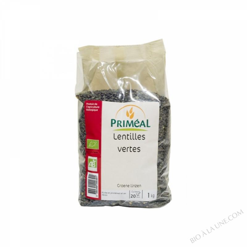 Lentilles Vertes Bio 1 kg