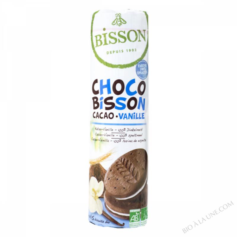 BISCUITS CHOCO BISSON CACAO VANILLE - 300G