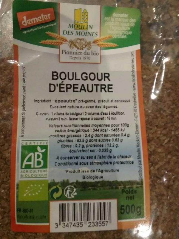 Boulgour d'epeautre pregerme - 500g