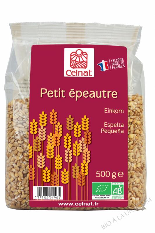 CELNAT Petit Epeautre BIO - 500g
