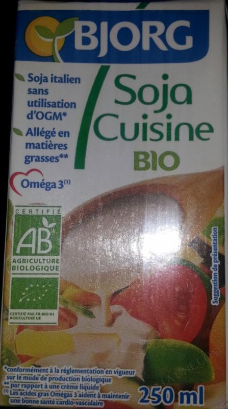 Soja cuisine fluide