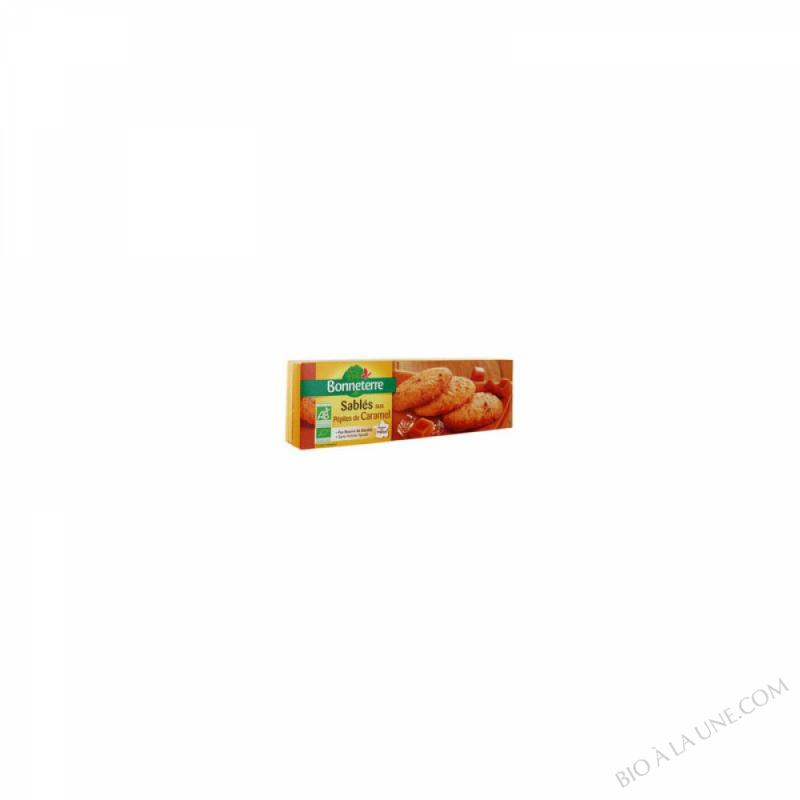 SABLES AUX PEPITES DE CARAMEL (PUR BEURRE) - 150 G