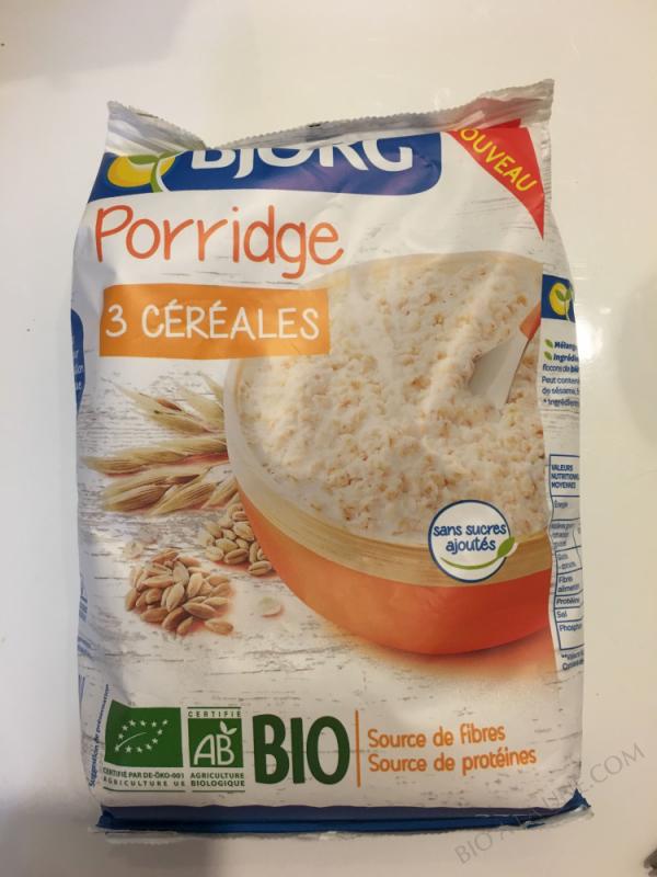 Porridge 3 Céréales - 375g