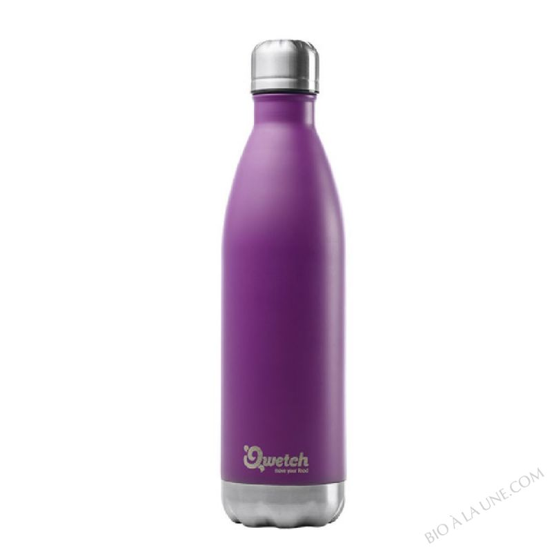 BOUTEILLE NOMADE POURPRE ISOTHERME 750ML QWETCH