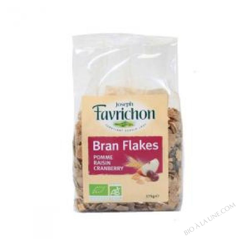 Bran Flakes Pomme Raisin Cranberry - 375g